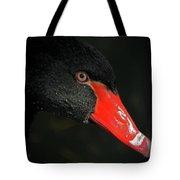 Black Swan Closeup Tote Bag