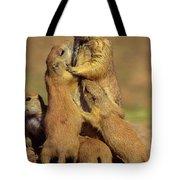 Black-tailed Prairie Dogs Tote Bag