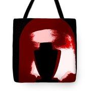 Black Urn Tote Bag