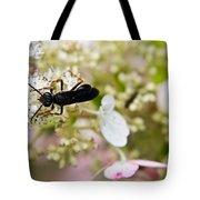 Black Wasp 2 Tote Bag