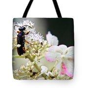 Black Wasp 3 Tote Bag