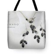Black Zircon Tote Bag