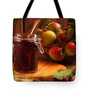 Blackberry And Apple Jam Tote Bag by Amanda Elwell