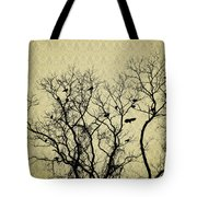 Blackbirds Roost Tote Bag