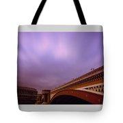 Blackfriars Bridge Tote Bag