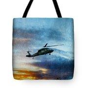 Blackhawk Helicopter Tote Bag