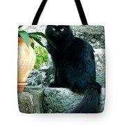 Blacky Cat Tote Bag