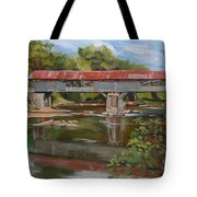 Blair Bridge Campton New Hampshire Tote Bag
