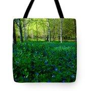 Blanket Of Flowers Tote Bag