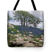 Blanketed In Blue Tote Bag