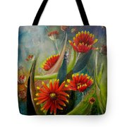 Blankets In The Morn Tote Bag