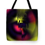 Blasted Rainbow  Tote Bag