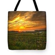 Blazing Countryside Tote Bag