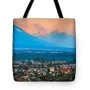 Bled City And Breg. Slovenia Tote Bag