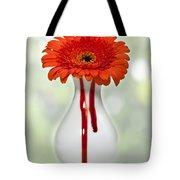 Bleeding Gerbera Tote Bag