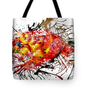 Bleeding Petals  Tote Bag