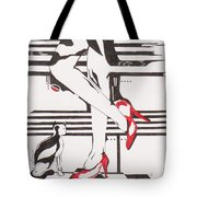 Blind Cat Shoes Tote Bag
