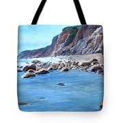 Block Island Surf Tote Bag