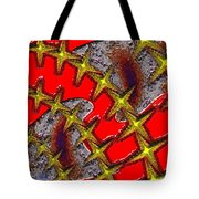 Blood On The Wire Tote Bag