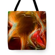 Blood Work Triptych Panel 3 Tote Bag