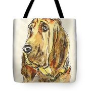 Bloodhound-watercolor Tote Bag