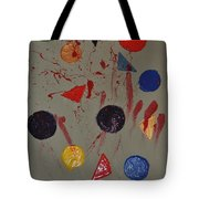 Bloody Colorforms Tote Bag