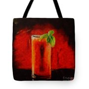 Bloody Mary Coctail Tote Bag