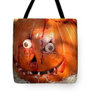 Bloody Pumpkin Tote Bag