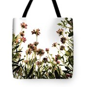Blooming Above Tote Bag