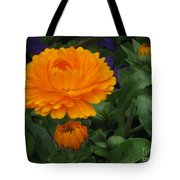 Blooming Gold Tote Bag