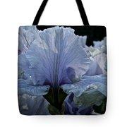 Blooming Iris Tote Bag