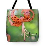 Blooming Tiger Tote Bag