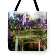 Blooming Wisteria  Tote Bag