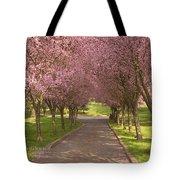Blooms Along The Lane Tote Bag