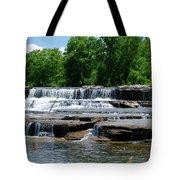Blossom Road Waterfalls 5123 Tote Bag