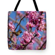 Blossoming Bird Tote Bag