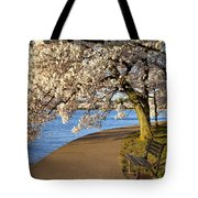 Blossoming Cherry Trees Tote Bag