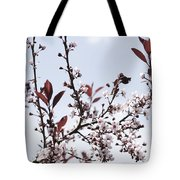 Blossoms In Time Tote Bag