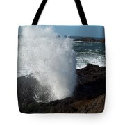 Blow Hole Tote Bag