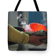 Blowing Glass IIi Tote Bag