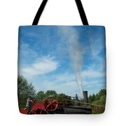 Blowing Off A Little Steam Tote Bag