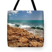 Blowing Rocks Jupiter Island Florida Tote Bag