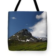 Blowing The Clouds Away Tote Bag