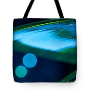 Blue And Green Abstract Tote Bag by Dana Kern