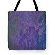 Blue And Purple Stone Abstract Tote Bag