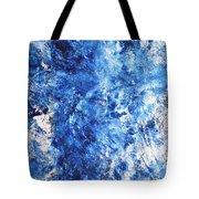 Ocean - Blue Abstract Art Paintingi Tote Bag