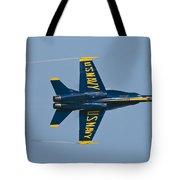 Blue Angel Break Tote Bag