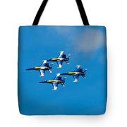 Blue Angels 4 Tote Bag