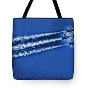 Blue Angels Liftoff Tote Bag