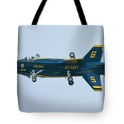 Blue Angels Solo Mirror Tote Bag
